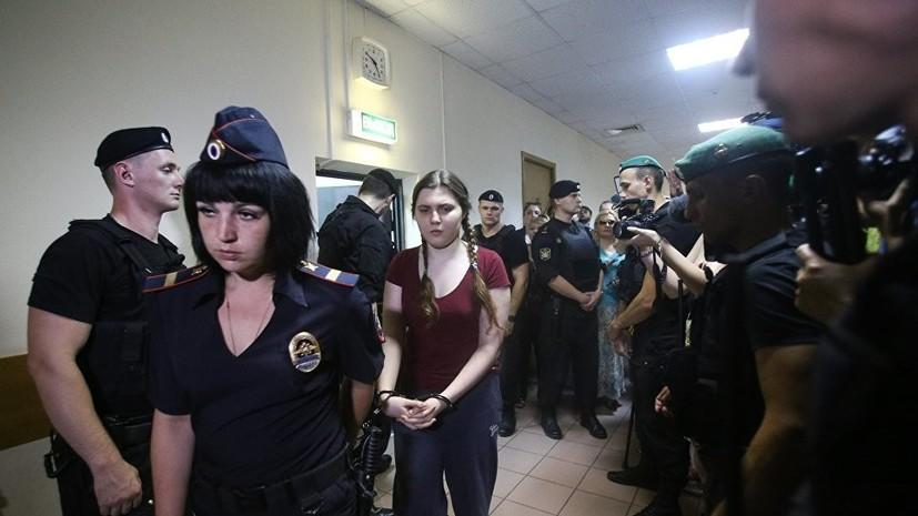 Суд продлил домашний арест фигуранток дела «Нового величия» до13декабря