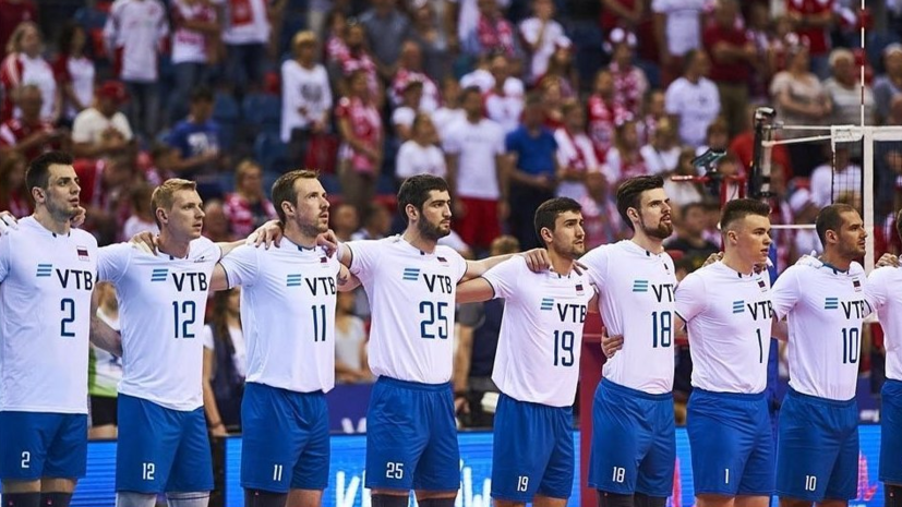 Мужская сборная России по волейболу одержала победу над Австралией на групповом этапе ЧМ