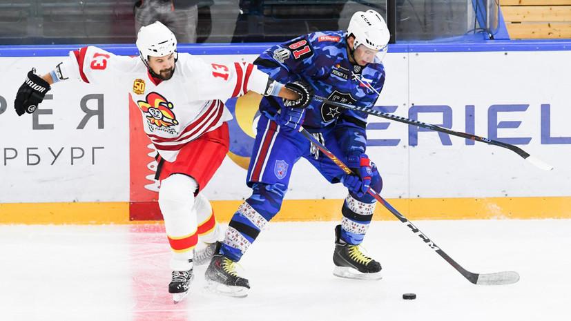 СКА в овертайме одержал победу над «Йокеритом» в матче КХЛ