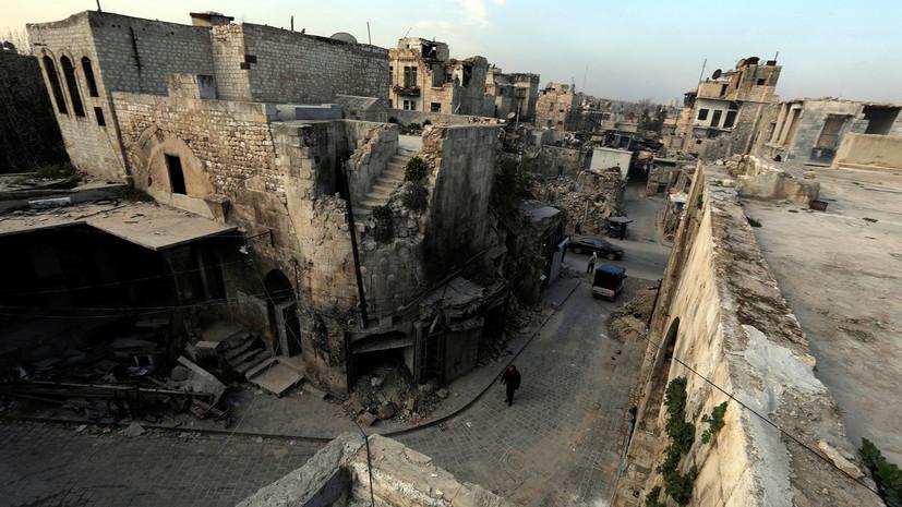 Россия зафиксировала обстрелы в трёх сирийских провинциях