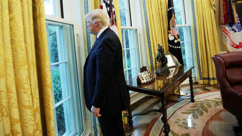 Перехват инициативы: по каким причинам Дональд Трамп мог подписать превентивный указ о санкциях