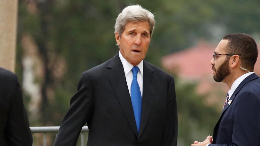 Прежний госсекретарь Джон Керри поведал оскрытом Башаром Асадом химоружии