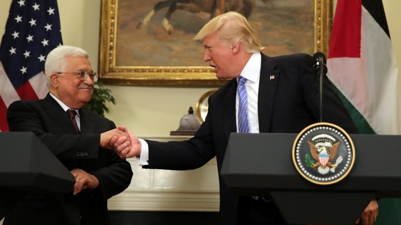 В Палестине назвали условия возможной встречи Аббаса с Трампом