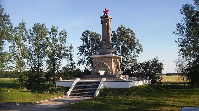 В Польше пытались взорвать памятник советским солдатам