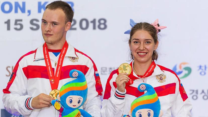 Точное попадание: сборная России выиграла девять золотых медалей на чемпионате мира по стрельбе