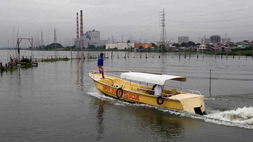 Тайфун «Мангхут» достиг берегов Филиппин
