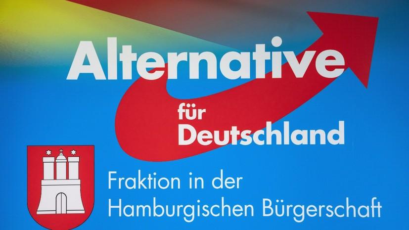 Опрос: «Альтернатива для Германии» стала самой популярной партией на востоке ФРГ
