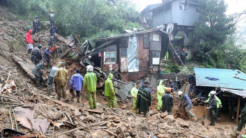 СМИ: В результате обрушившегося на Китай тайфуна «Мангхут» пострадали более 200 человек