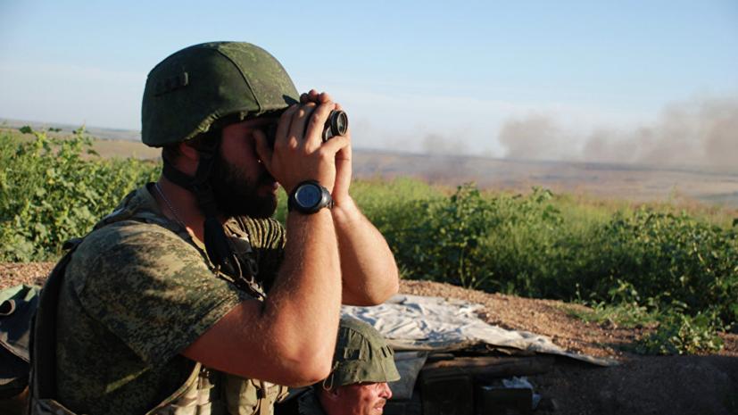 В ДНР заявили об активности беспилотников украинских военных
