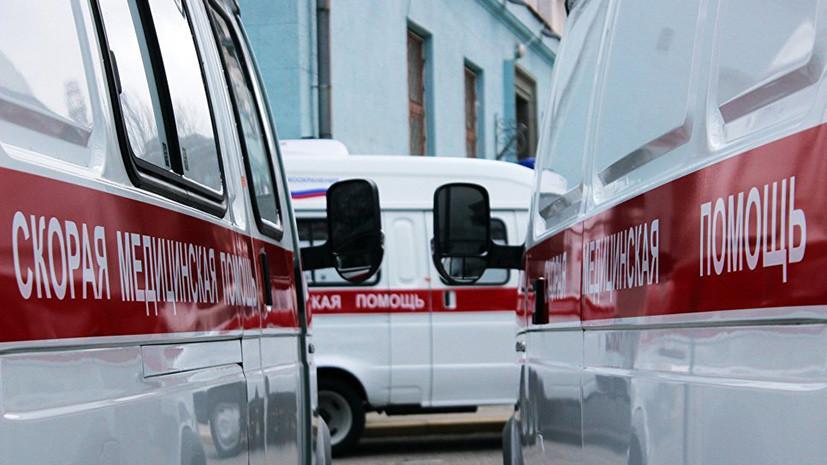 В Подмосковье проводят проверку по факту падения женщины с ребёнком с третьего этажа