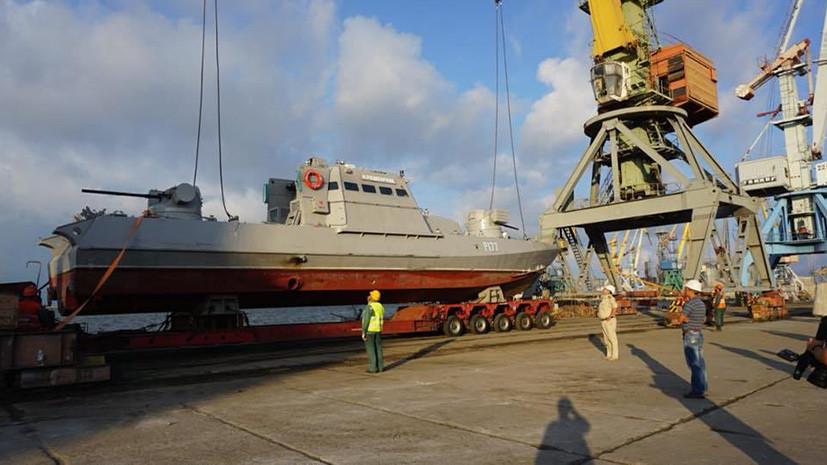 Предвыборная флотилия: Украина заявила о намерении создать военно-морскую базу в Азовской акватории