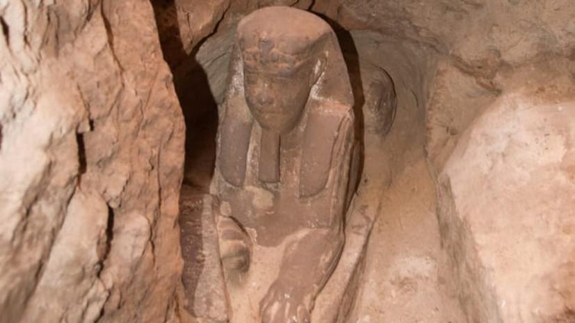 Сфинкса обнаружили в ходе работ в храме Ком-Омбо в Египте