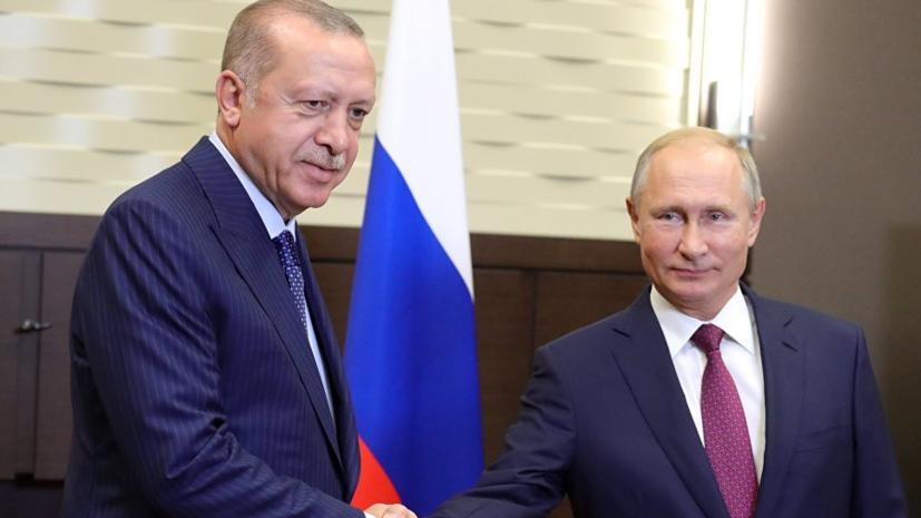 Путин и Эрдоган договорились создать в Идлибе демилитаризованнуюзону
