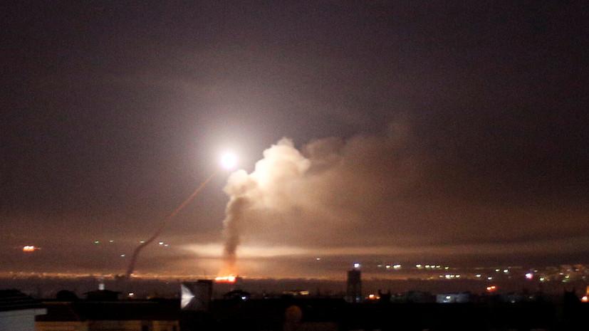 СМИ: ПВО Сирии сбила запущенные по Латакии ракеты