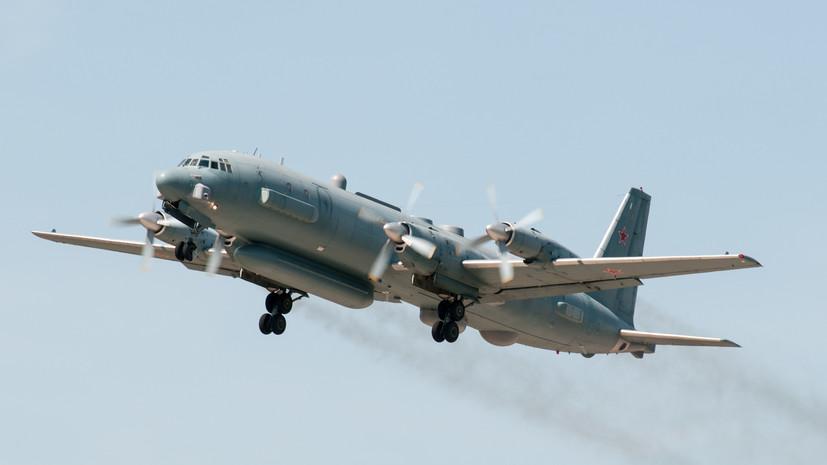 Над Средиземным морем пропал российский самолёт с 14 военными на борту