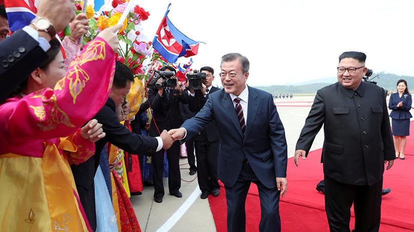 В Пхеньяне завершился первый раунд переговоров лидеров КНДР и Южной Кореи