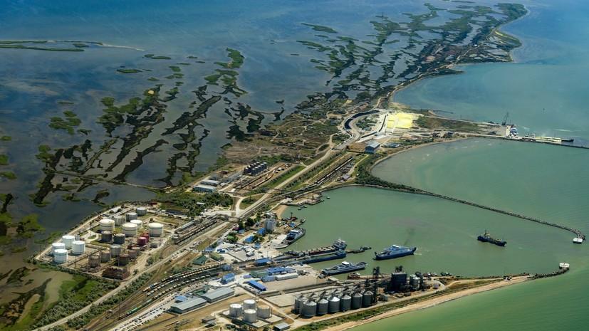 В Крыму ответили на заявление генерала ВСУ о базе в Азовском море