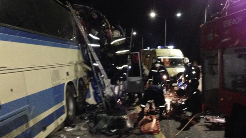On the fact of an accident with two buses near Voronezh