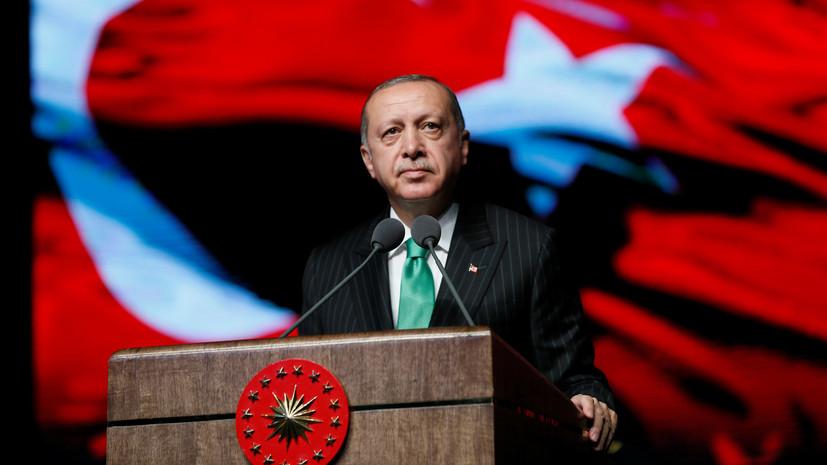 Эрдоган заявил об отсутствии в Турции экономического кризиса
