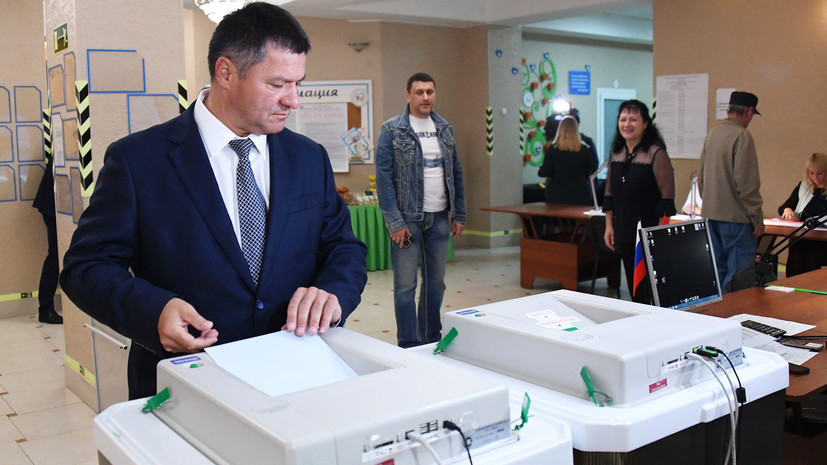 CEC proposed to cancel the election results in Primorye