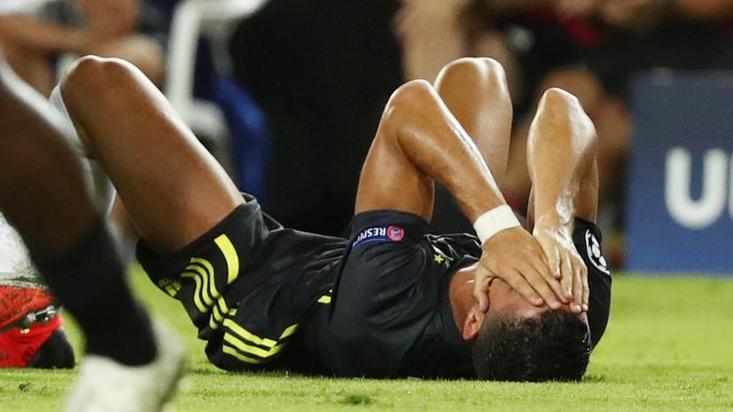 Пьянич назвал абсурдным удаление Роналду в матче Лиги чемпионов с «Валенсией»