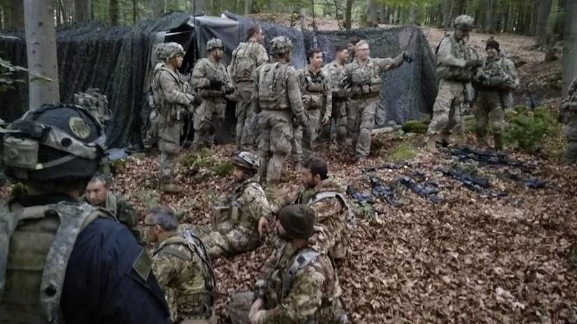Украинские десантники захватили штаб военных США на учениях в Германии