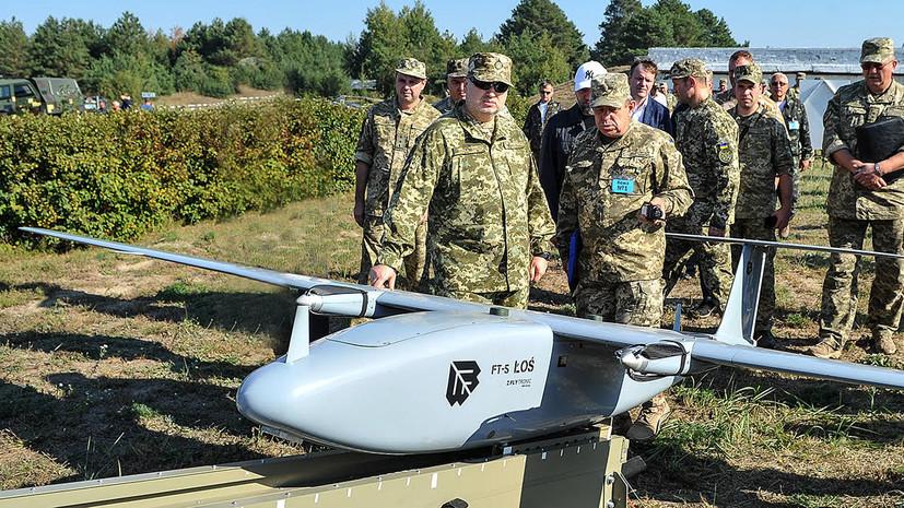 На Украине испытали новые беспилотники ивертолёты