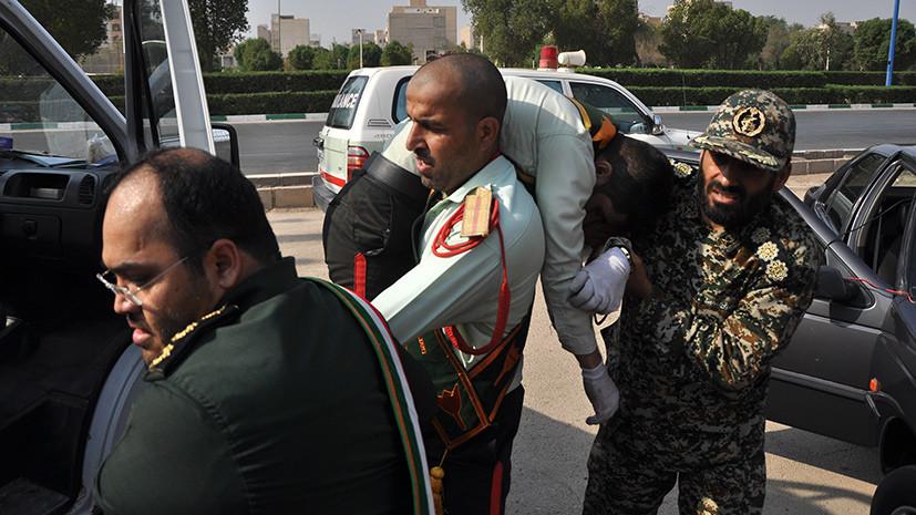 «Нападение радикального подполья»: что известно о теракте на военном параде в Иране