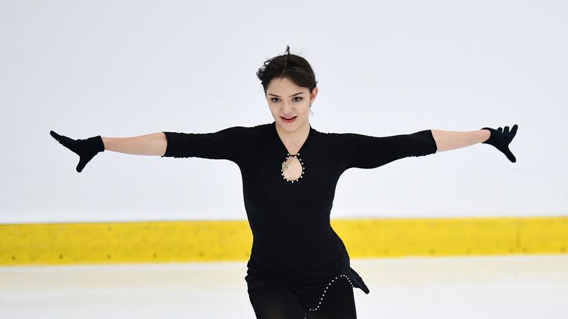 Фигуристка Медведева прокомментировала своё выступление на турнире в Канаде