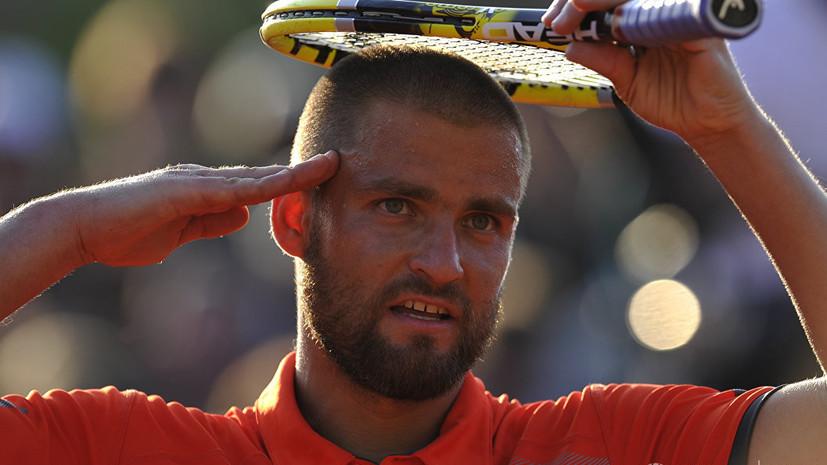 Южный намерен открыть теннисную школу в Санкт-Петербурге