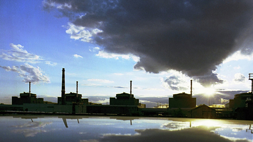 На Украине отключили второй энергоблок Запорожской АЭС