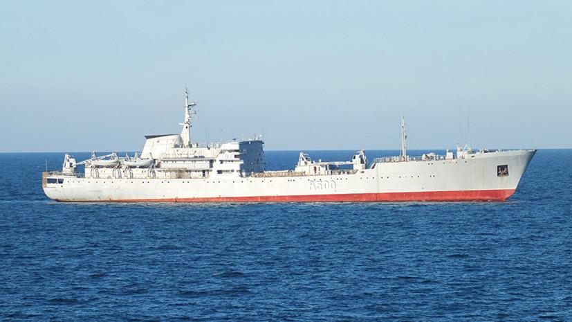 В составе каравана: зачем Украина перебросила два корабля ВМС из Чёрного моря в Азовское