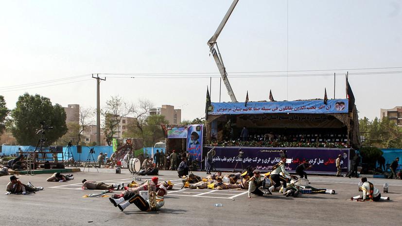 Верховный лидер Ирана назвал финансировавшие организацию теракта в Ахвазе страны