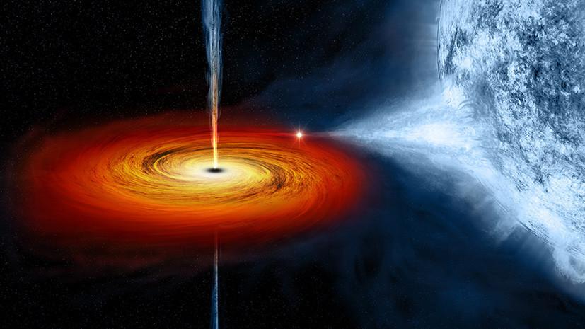 Космический пылесос: учёные объяснили быстрый прирост массы чёрных дыр