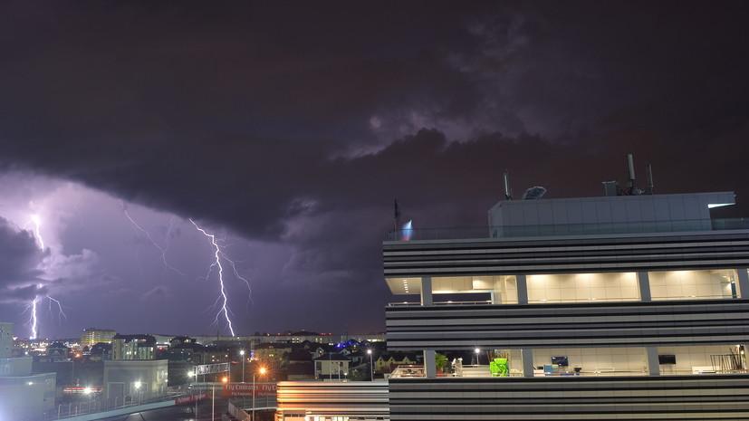 В Сочи предупредили о грозах и усилении ветра 26 сентября