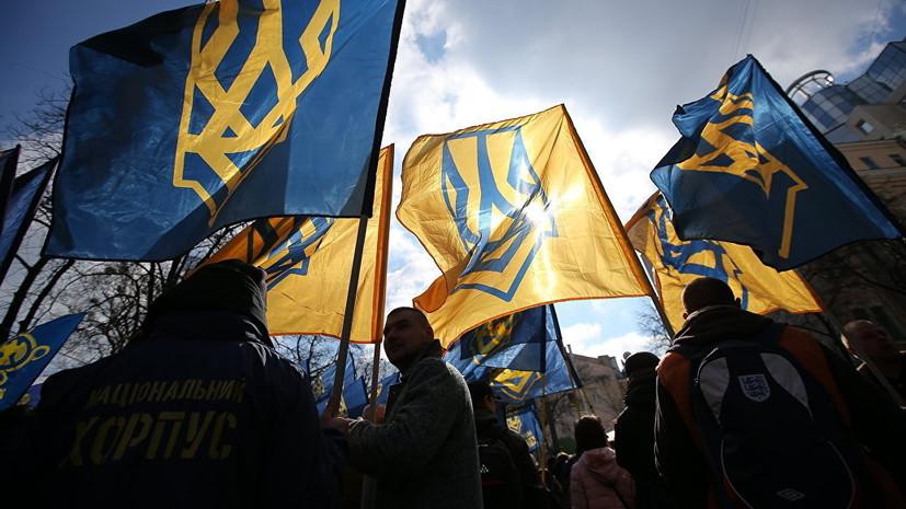Украинские националисты потребовали выслать из страны консула Венгрии