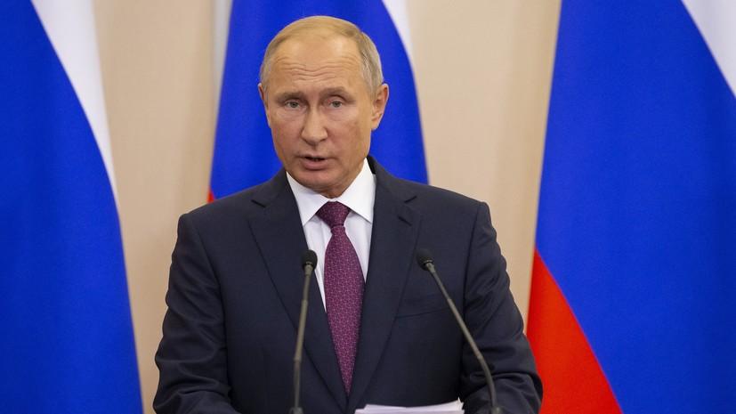 Путин предложил губернатору Сахалина занять пост врио главы Приморья
