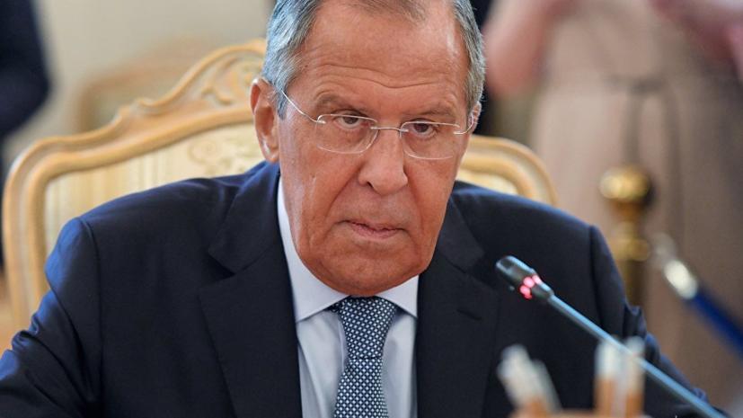 Лавров: Россия предостерегает от новых ударов по Сирии под инсценированным предлогом