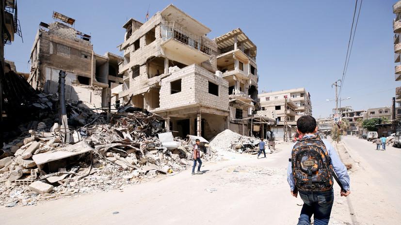 Более 1,1 тысячи мирных жителей Сирии погибли в результате ударов коалиции США