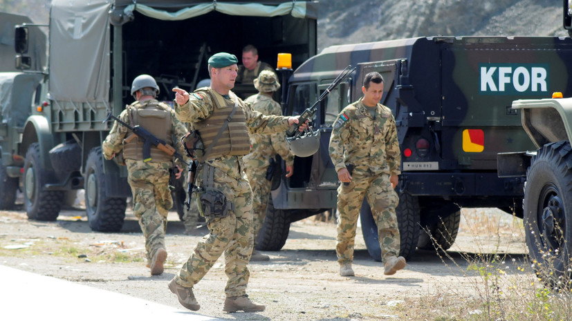 Силы KFOR подтвердили присутствие спецназа Косова в районе ГЭС «Газиводе»