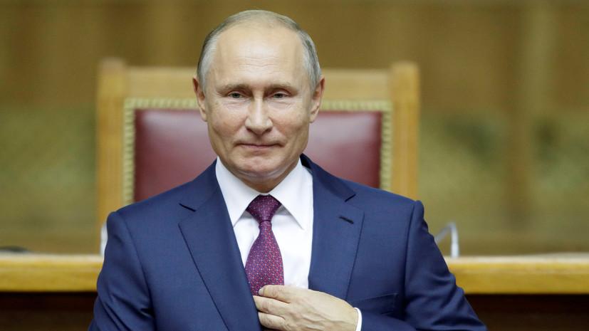 Путин пожелал главе Республики Сербской успехов на предстоящих выборах