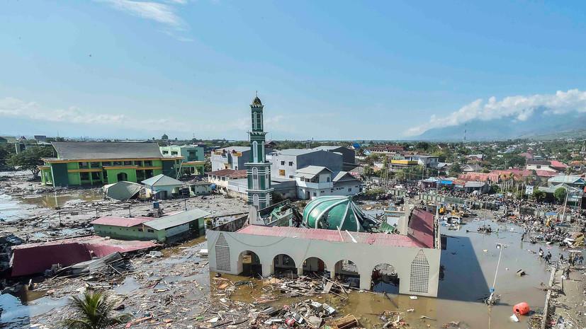 В Госдепе заявили о готовности оказать Индонезии помощь в ликвидации последствий землетрясения