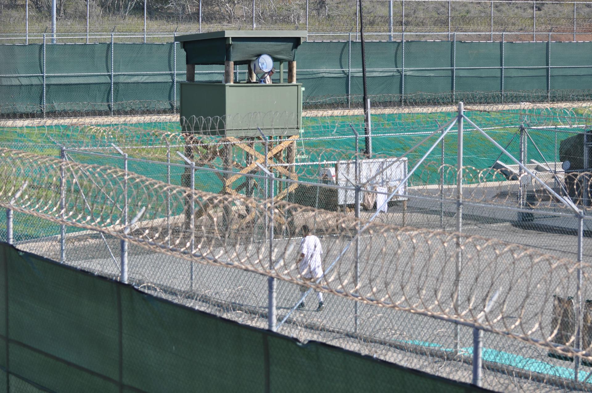 Американская тюрьма в Гуантанамо