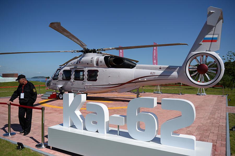 «Под силу покорить рынок»: на что способен новейший вертолёт Ка-62