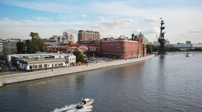 Ространснадзор проведёт проверку столкновения теплоходов на Москве-реке