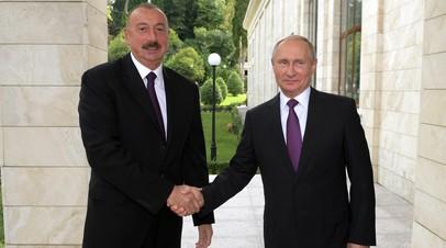 «Контракты превышают $5 млрд»: глава Азербайджана заявил о намерении развивать военно-техническое сотрудничество с РФ