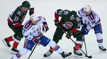 Хоккеист «Ак Барса» Лукоянов: на матч со СКА вышли как на фигурное катание