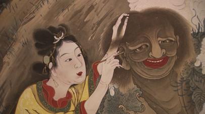 В Москве открылась выставка шедевров японской живописи и гравюры