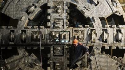 Началось строительство тоннеля БКЛ под каналом имени Москвы
