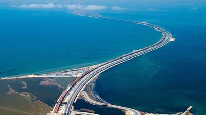 Автоподход к Крымскому мосту планируют заасфальтировать до конца сентября